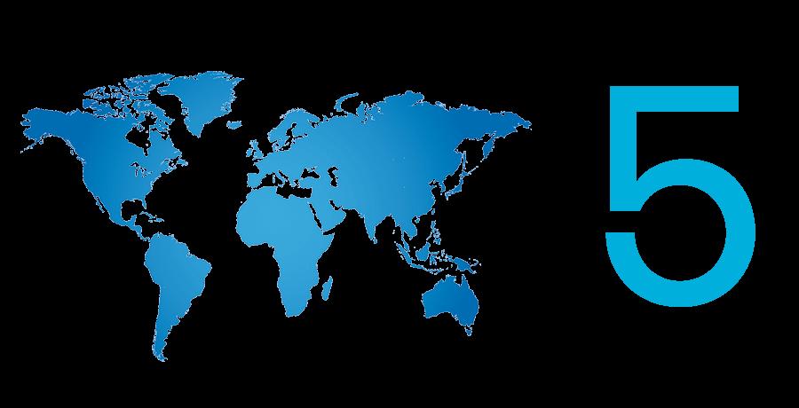 Weltweit einsetzbar