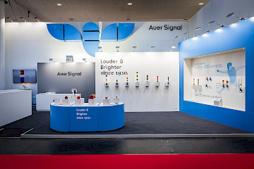 Auer Signal Messestand