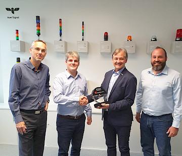 Quality Austria Award handover