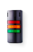 Half-Dome compact Signal towers 24 V AC/DC red/amber/green, black (RAL 9005)