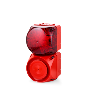 ASS-T+QFS Multi-tone alarm sounder and Xenon strobe beacon