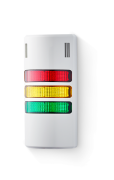 Half-Dome compact Signal towers 24 V AC/DC red/yellow/green, grey (RAL 7035)