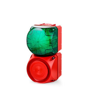 ASS-T+QDS Multi-tone alarm sounder and LED steady/flashing beacon